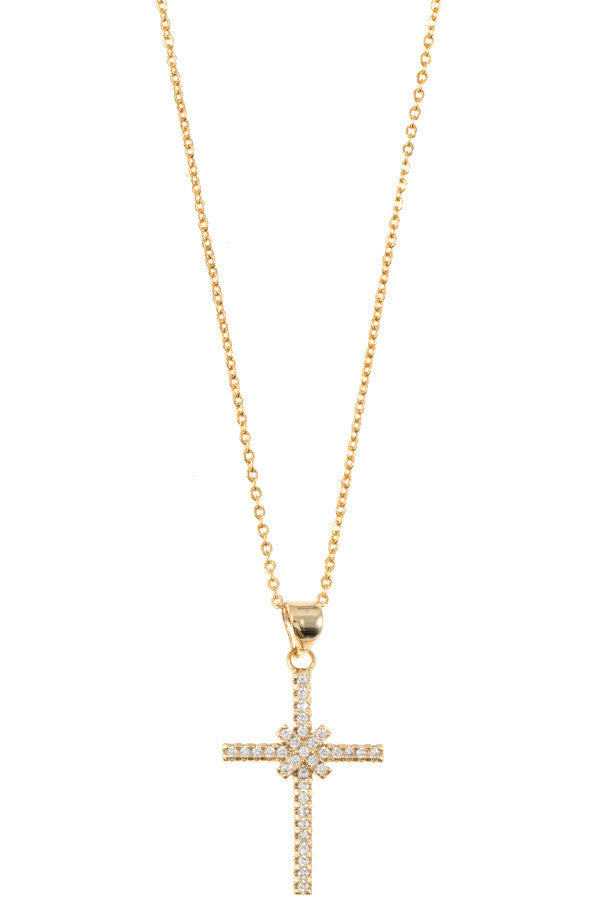 Shine Bright Cross Necklace
