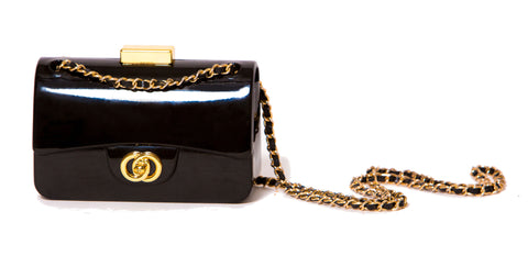 Black Signature Cross-Body Bag