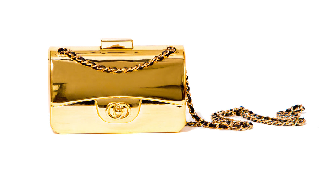 Gold Signature Cross-Body Bag