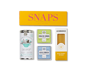 example items in a get well gift set