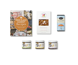 example items in a gourmet gift set