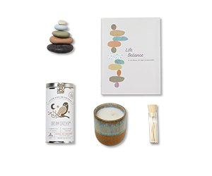 example items in a well-being gift set