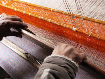 Bloom & Give's handmade scarves are made in India