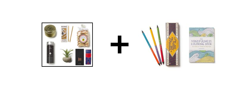 Princeton Architectural Press - Tutti Frutti Colored Pencils & The Mindfulness Coloring Book