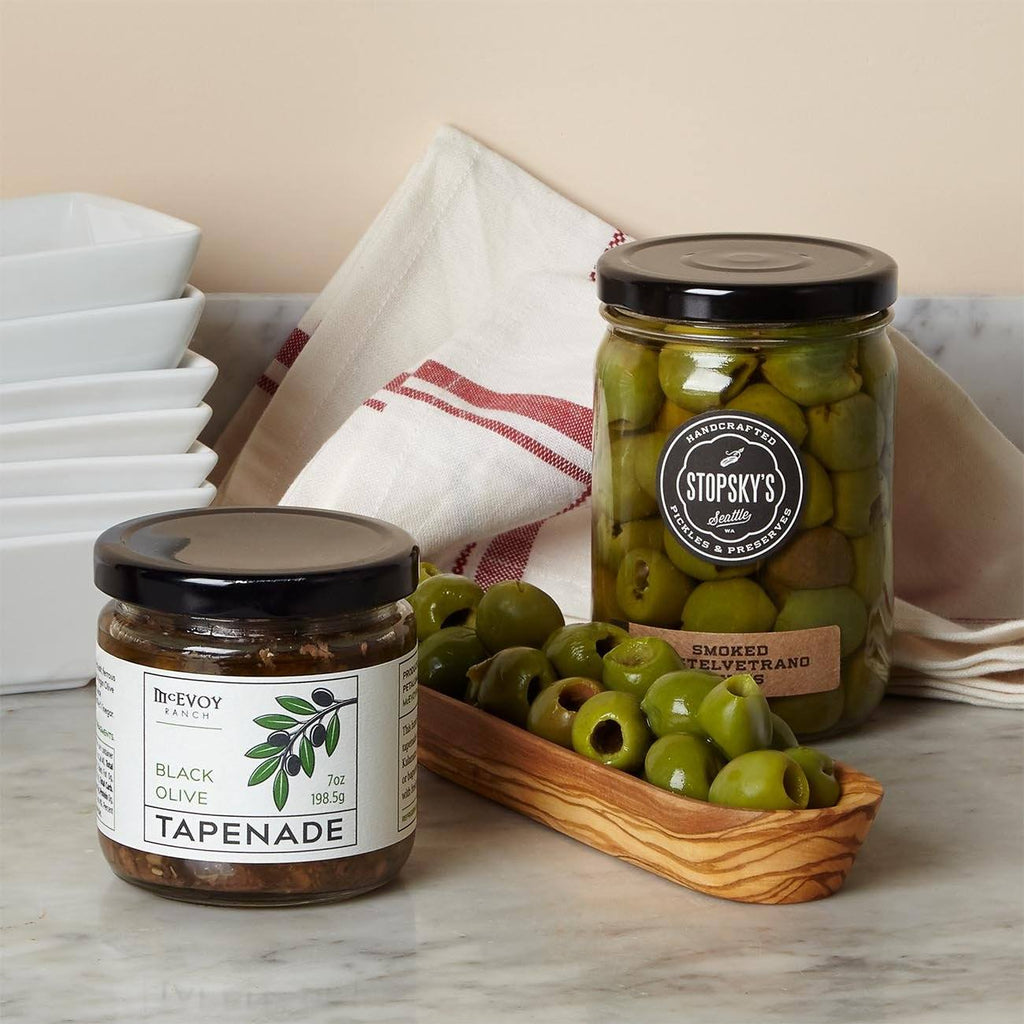 Olives And Serving Dish Gift Box