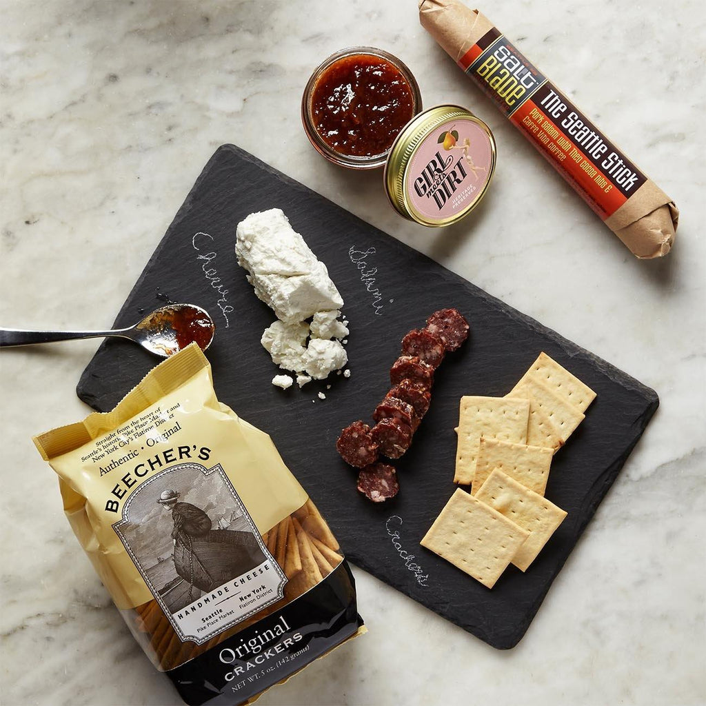 Seattle Appetizer Trio With Slate Board Gift Box