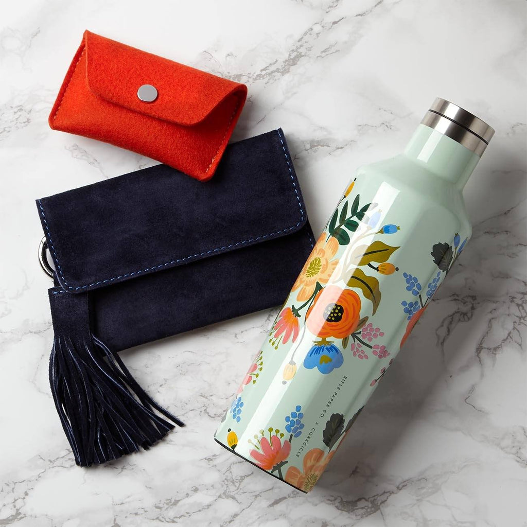 Passport Clutch With Water Bottle Gift Set