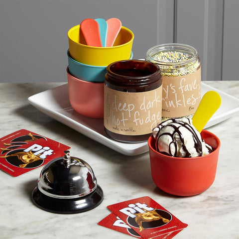 Family Ice Cream And Game Night Gift Set