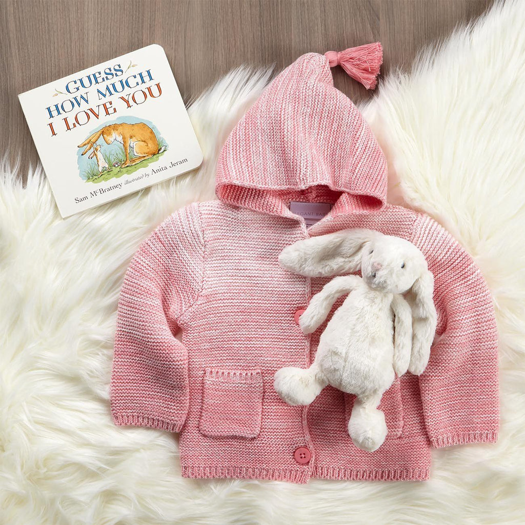 Snuggly Bedtime Gift Set For Baby In Pink