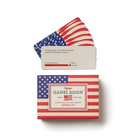 Ridley's How Well Do You Know America Quiz, 140 Question Cards