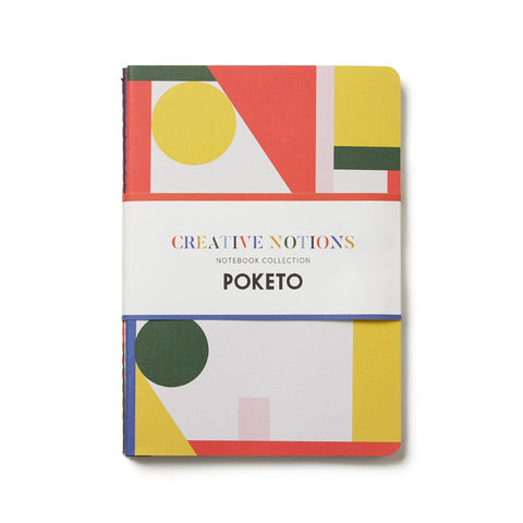 Creative Notions Notebook Collection, Set of 3