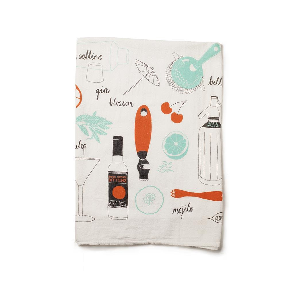 Cocktail Tea Towel Gift Set
