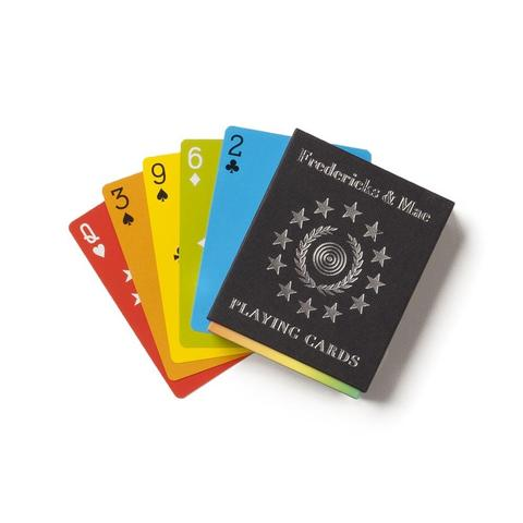 Fredericks and Mae Rainbow Playing Cards