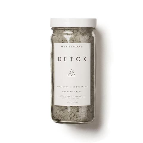 Herbivore Botanicals Detox Bath Salts, 8 oz bottle