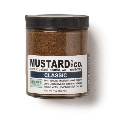 Mustard and Co. Classic Mustard, 7 oz