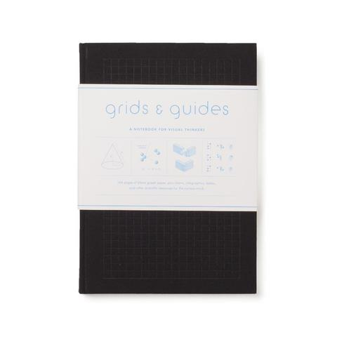 Princeton Architectural Press Grids & Guides Notebook, 144 grid pages, 6
