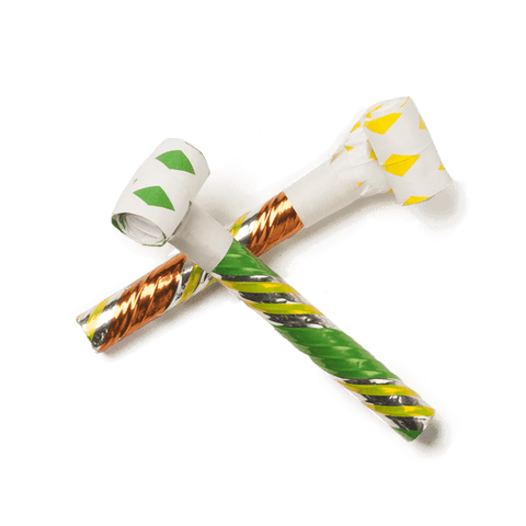Good Fortune Party Blowers