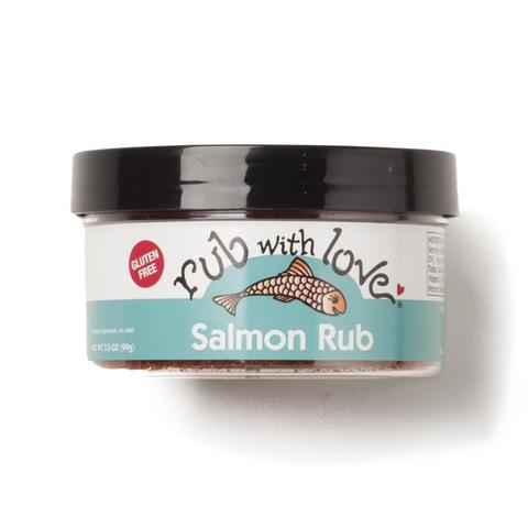 Rub With Love Salmon Rub, 3.5 oz
