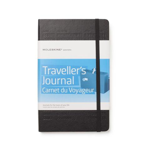 Moleskine Traveller's Journal, 240 pages with 202 adhesive stickers, 5