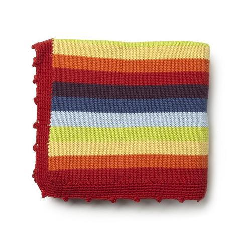 Stripey Blanket, measures 41.3