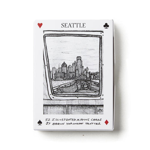 Illustrated Seattle Playing Cards