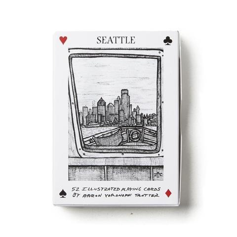 Illustrated Playing Cards Seattle Deck