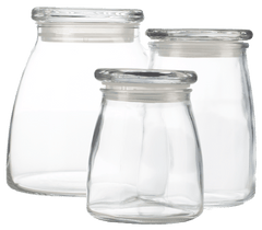 Universal Glass Legend Jar