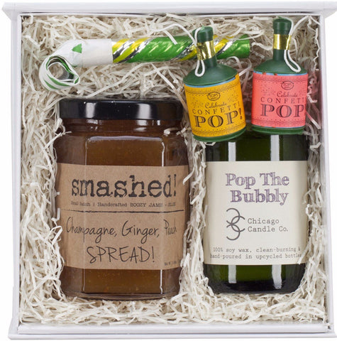 Pop The Bubbly Gift Set