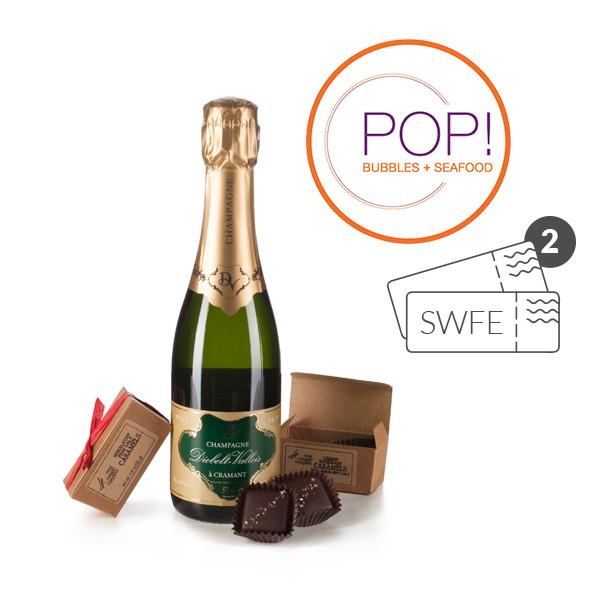SWFE Champagne and POP! Experience