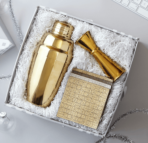 Gold Cocktail Gift Box