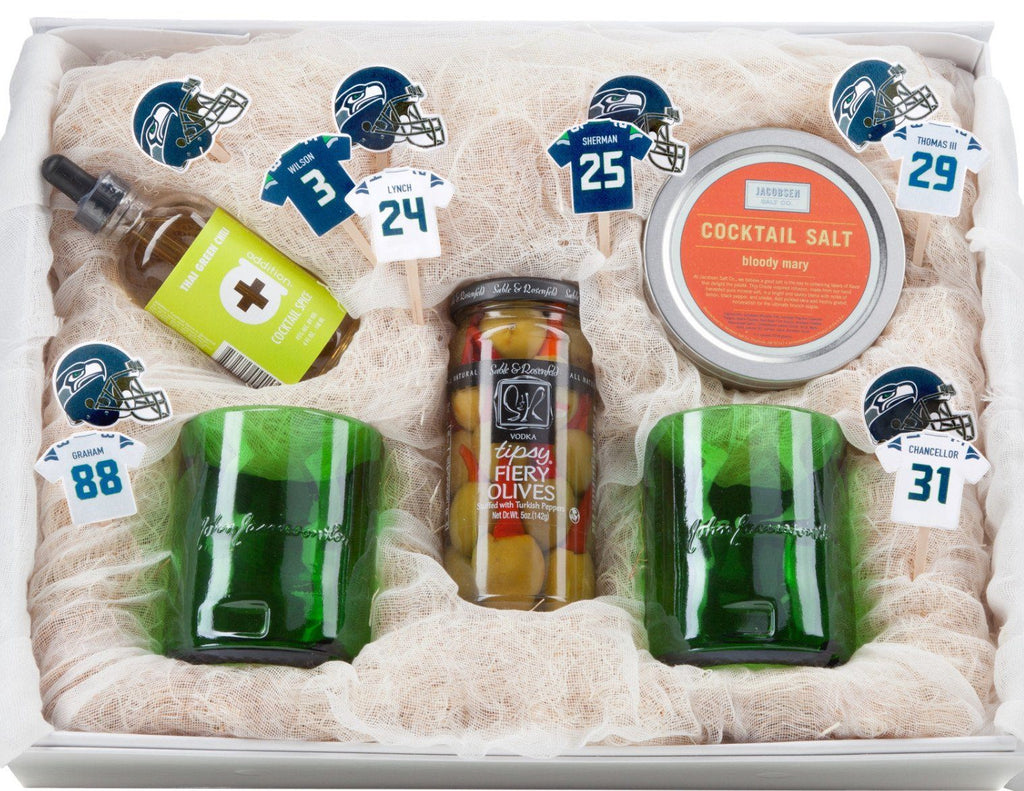 Cheers, Seahawks! by Alexandra Hedin Gift Set
