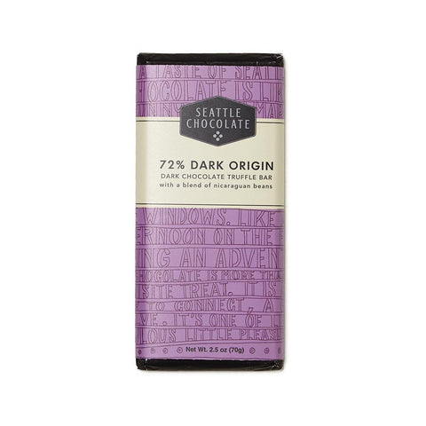 72% Dark Origin Truffle Bar