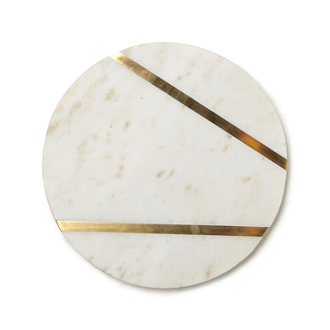 BIDKhome Marble Cheese Board, 8