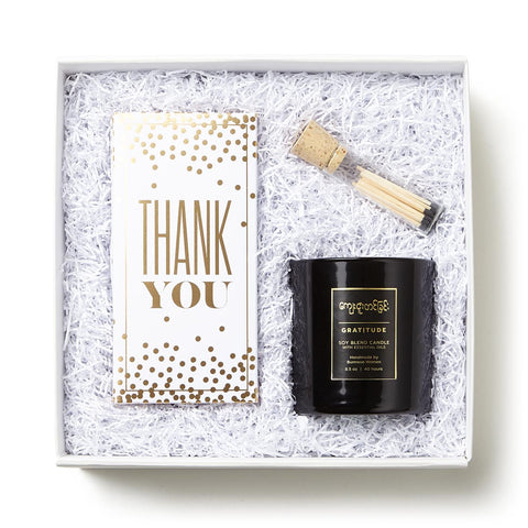 Sweet Thanks Gift Set in a gift box