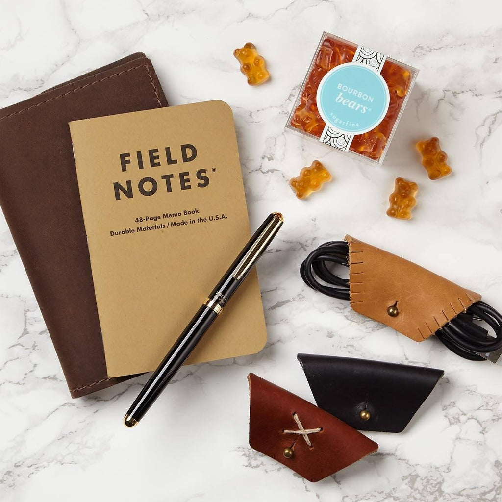 Carry-On Essentials Journal And Snacks Gift Set