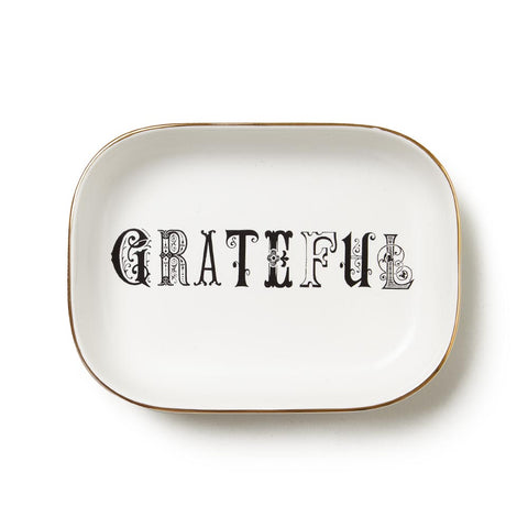 Grateful Trinket Tray