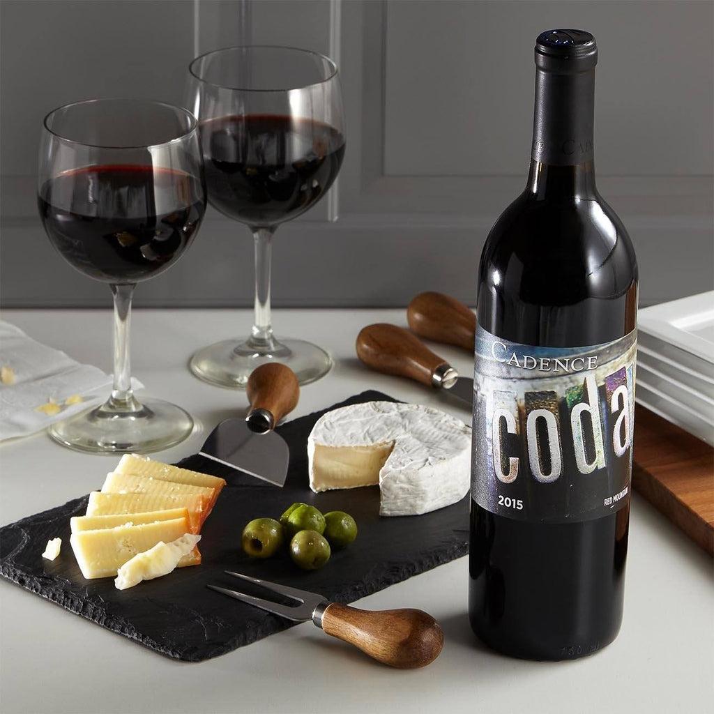 Coda Red Mountain Blend & Cheese Platter