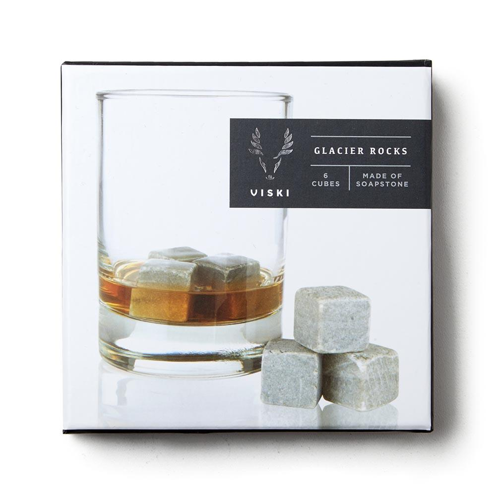 Soapstone Whiskey Cubes Gift Set