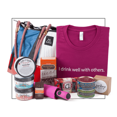 Deluxe Savor Seattle Gift Set Gift Set