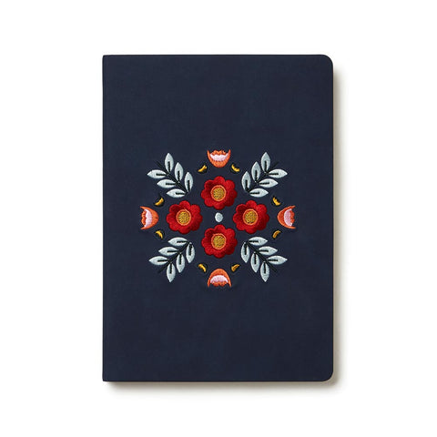 Evelynn Embroidered Notebook