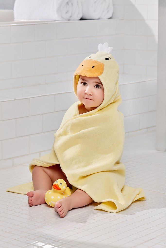 Bath Wrap Yellow Ducky For Kids