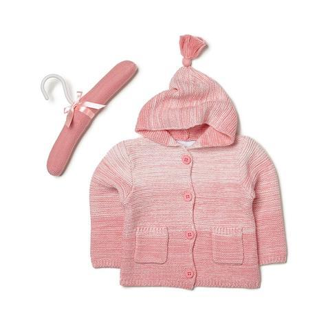 Elegant Baby Coral Ombre Sweater
