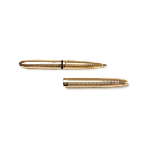 Lacquered Brass Bullet Space Pen