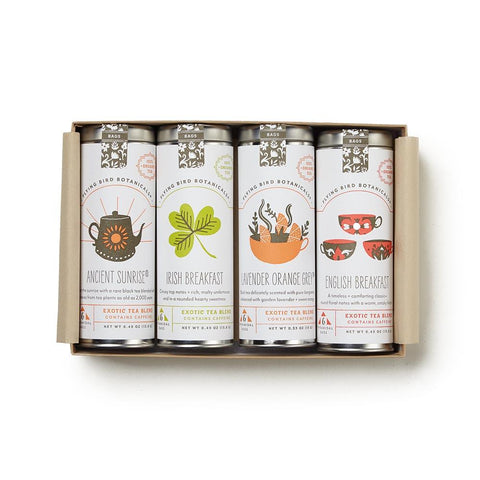Good Morning Tea Gift Box, Set of 4