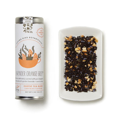 Lavender Orange Loose Leaf Grey Tea