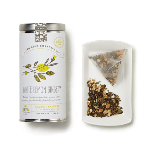 White Lemon Ginger White Tea