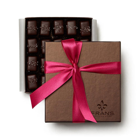 Gray Salt Caramel Signature Pink Gift Box