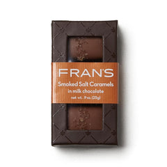Fran's Chocolates - Smoked Milk Chocolate Salt Caramels - 3 Piece Box