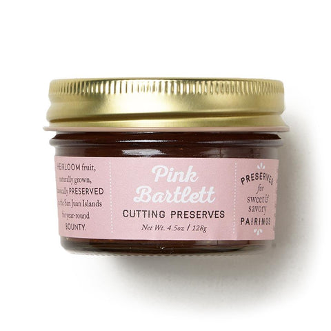 Pink Bartlett Cutting Preserves