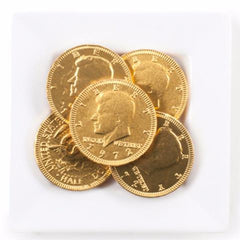 Gold Chocolate Coins Gift Set